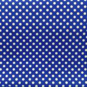 Lunares Blancos Fondo Azul