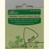 Tiza Triangular Sastre Azul