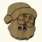 Botón Papa Noel
