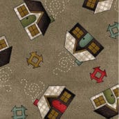 Patch Americano Home Sweet Home Flannel (03)