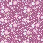 Flower Confetti Plum 100199